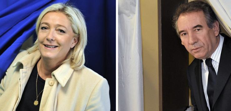 François Bayrou et Marine Le Pen ont échangé sur la nécessité d'une «banque de la démocratie»