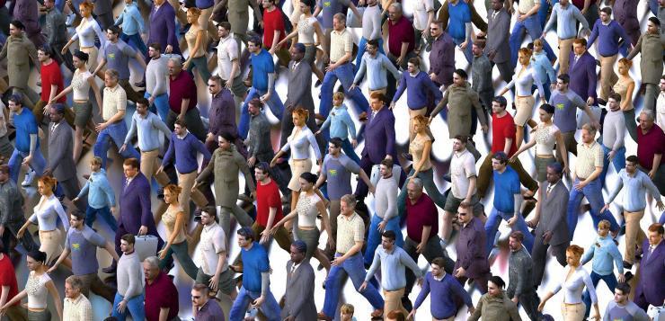 La population humaine de la planète va s'effondrer