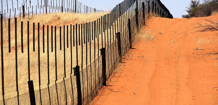 Frontière Namibie-Botswana